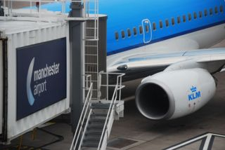 KLM to Amsterdam from Manchester